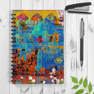 Indian Heritage Spiral Notebook/Notepad
