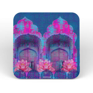 Rajasthani Door Table Coasters - Set of 6