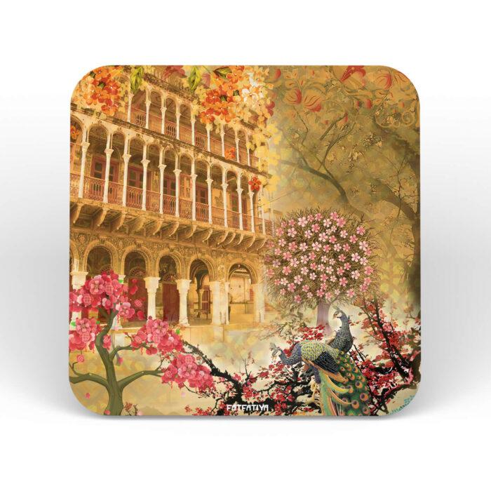 Heritage Haveli Table Coasters - Set of 6