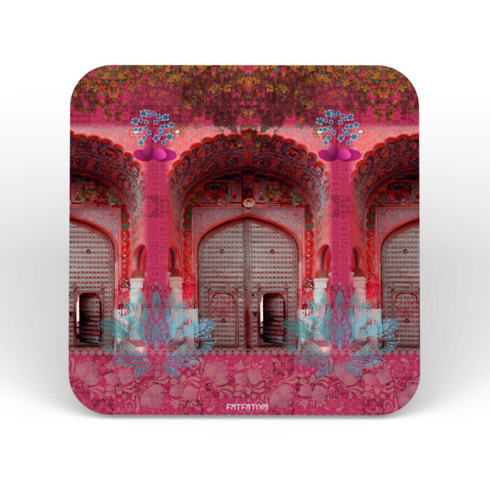 Flower on the Fort Table Coasters - Set of 6