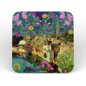 Rajasthani Heritage Fort Table Coasters - Set of 6