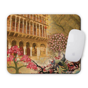 Cool Peacock and Haveli Mouse Pad