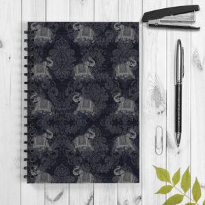Jaipur Ele Designer Spiral Notebook/Notepad