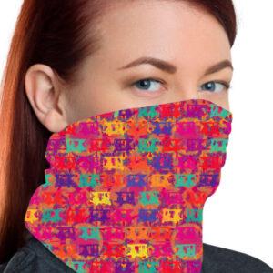 Pop Taxis Printed Unisex Bandana Mask/Neck Gaiter