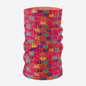 Elephant Themed Printed Unisex Bandana Mask/Neck Gaiter