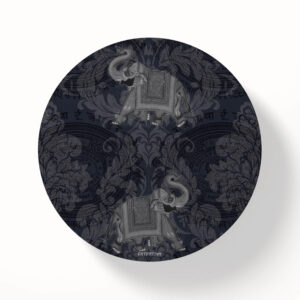 Jaipuri Ele/Hathi MDF Table Coaster Set of Six