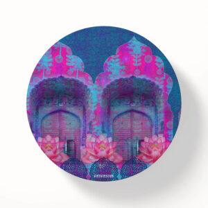 Haveli Doors MDF Table Coasters - Set of 6