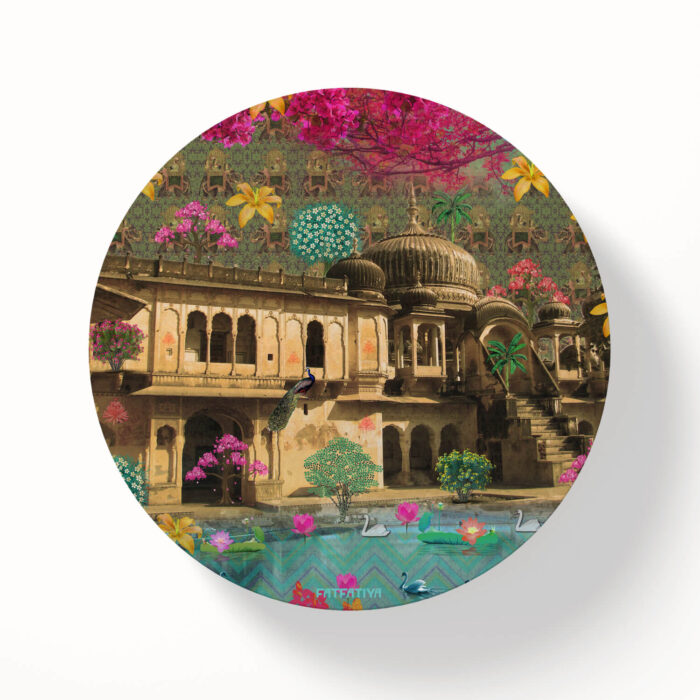Magnificent Haveli Table Coasters - Set of 6