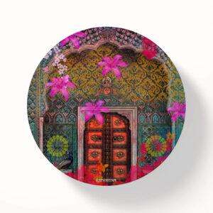 Royal Door Designer Printed Table Coasters - Set of 6