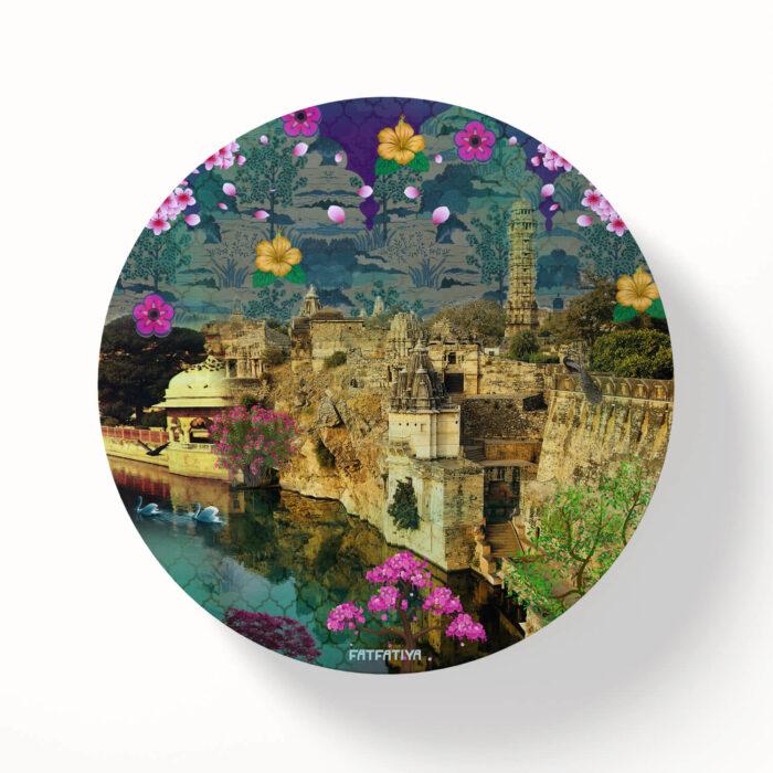 Rajasthani Fort Table Coasters - Set of 6