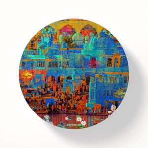 Pushkar Lake Table Coasters - Set of 6