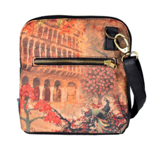 Fort and Floral Crossbody Bag For Women And Girls