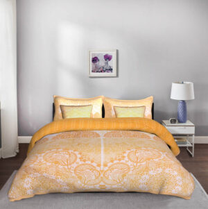 5 Piece King Size Cotton Quilted Designer Bedspread