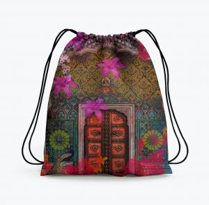 Royal Grace Drawstring Bag