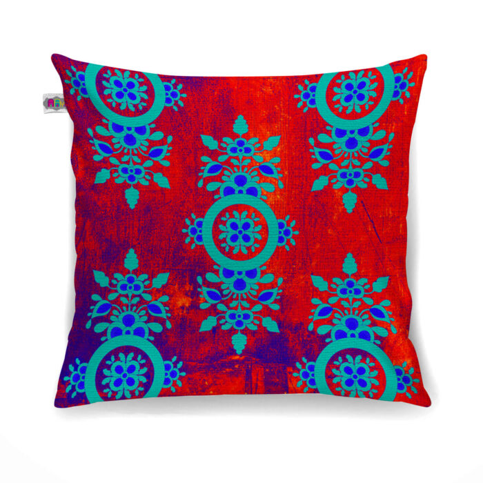 Charming Flower Motif Cushion Cover Set of 2