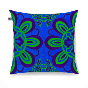 Flourishing Flower Motif Cushion Cover Set of 2