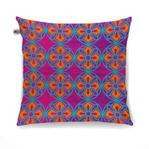 Delightful Flower Motif Cushion Cover Set of 2