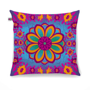 Marvelous Flower Motif Cushion Cover Set of 2