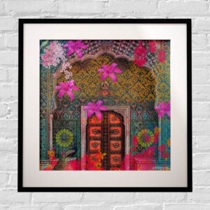 Royal Grace Framed Indian Wall Art Print