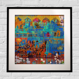 Indian Heritage Framed Wall Art Print