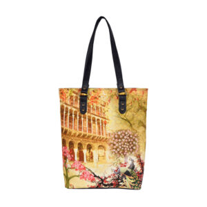Haveli and Peacock Classic Tote Bag