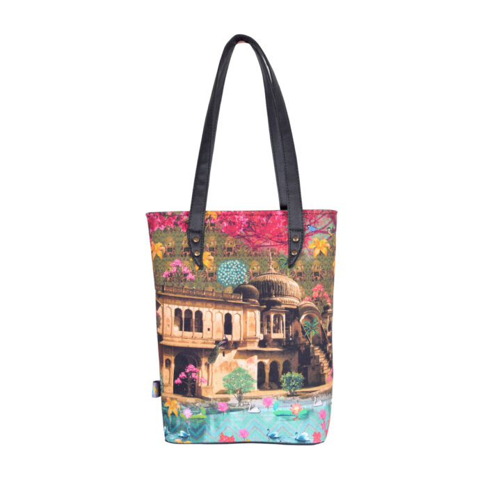 Fort in a Lake Classic Tote Bag