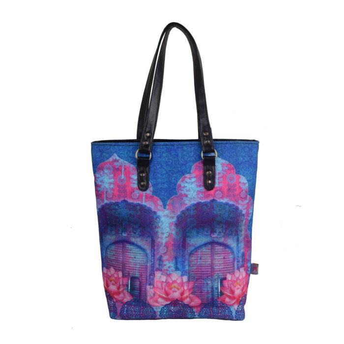 Cool Blue Rajasthani Classic Tote Bag