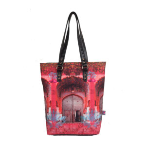 Pink Royal Door Design Classic Tote Bag