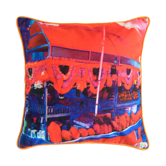 Juice Stall Glaze Cotton Cushion Cover
