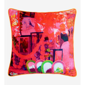 The Mirror Glaze Cotton Cushion Cover
