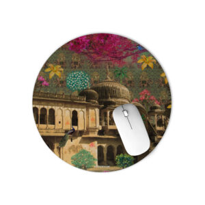 Beautiful Rajasthani Haveli Mouse Pad