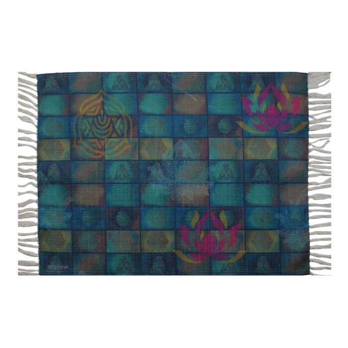 Geometrical Re-Cycled Polyester Rug
