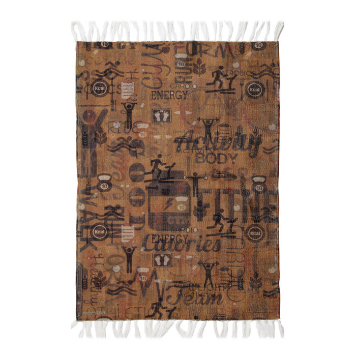 Let's Do Exercise Re-Cycled Polyester Rug