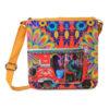 Crimson Taxi Canvas PU Sling/Crossbody Bag
