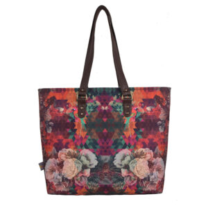 Multicoloured Floral Designer Women's Tote Bag