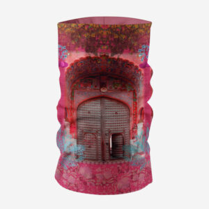 Pink Royal Door Design Unisex Bandana Mask/Neck Gaiter