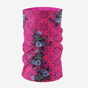 Pink and Blue Floral Unisex Bandana Mask