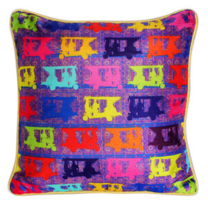 Pop Taxis Poli Dupion Cushion Cover