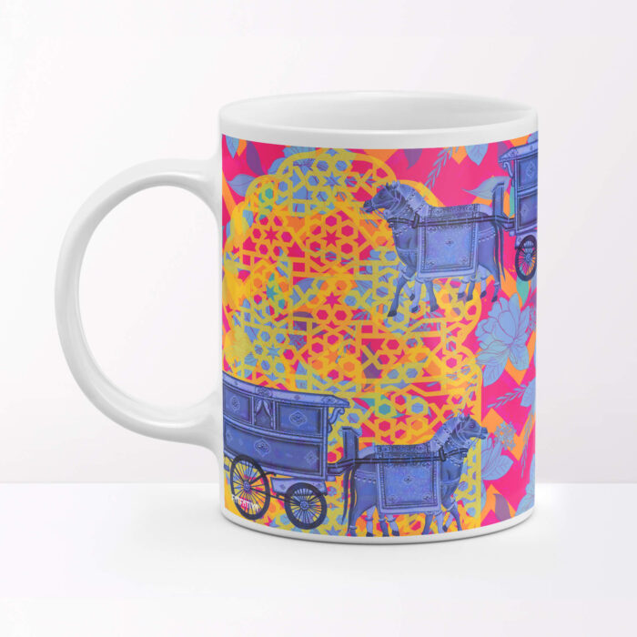 Horse Cart Designer Coffee Mug