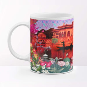 Elegant Bharatpur Palace Ceramic Coffee Mug