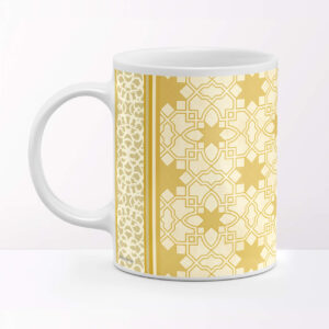 Rajasthani Jali Design Ceramic Coffee Mug