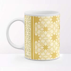 Rajasthani Jali Design Ceramic Coffee Mug