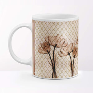 Lili Flower Designer Coffee Mug