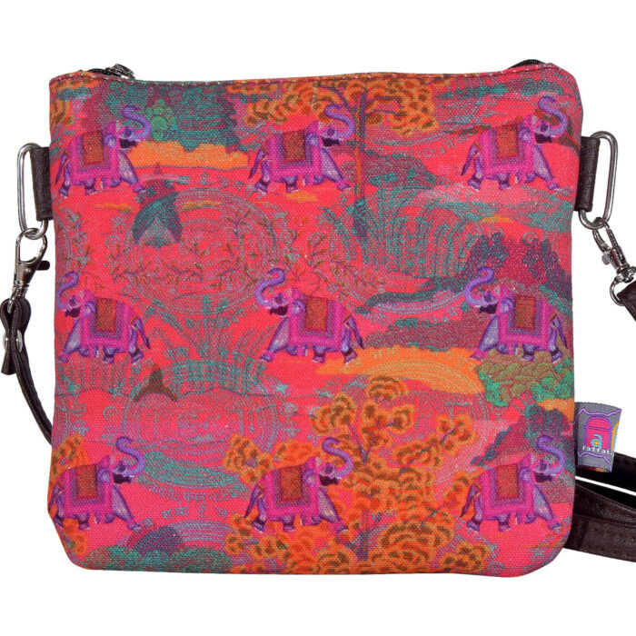 Rajasthani Haathi Small Sling Bag
