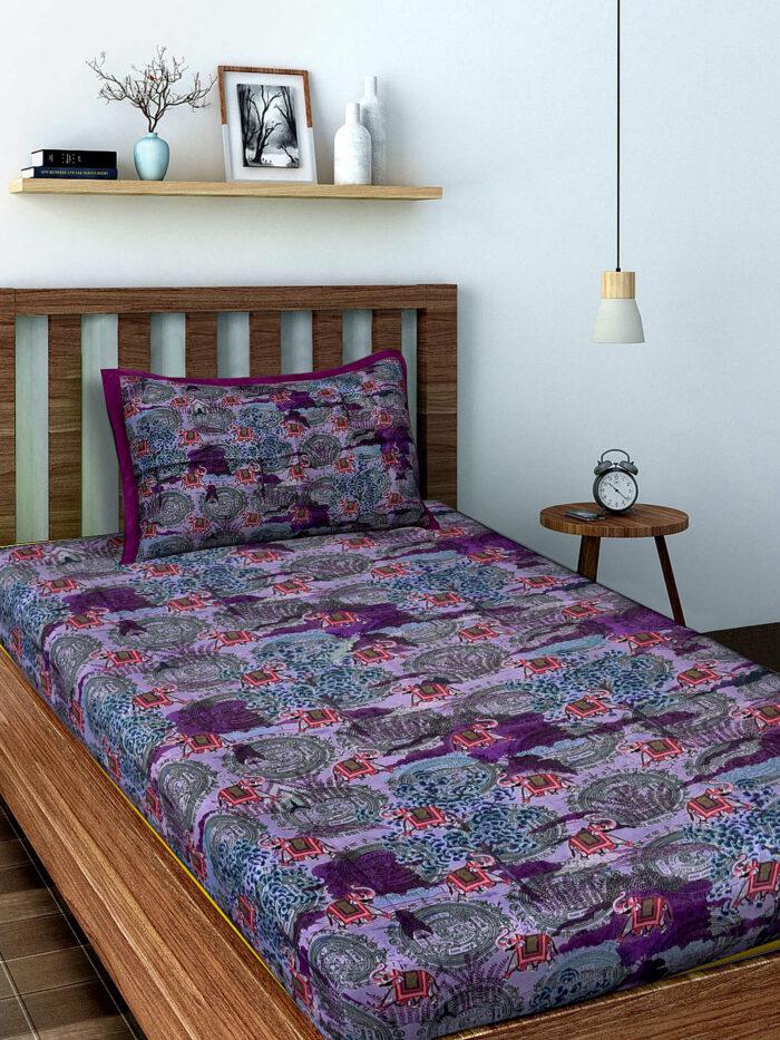 Shop Elephant Design Bed Sheets Online