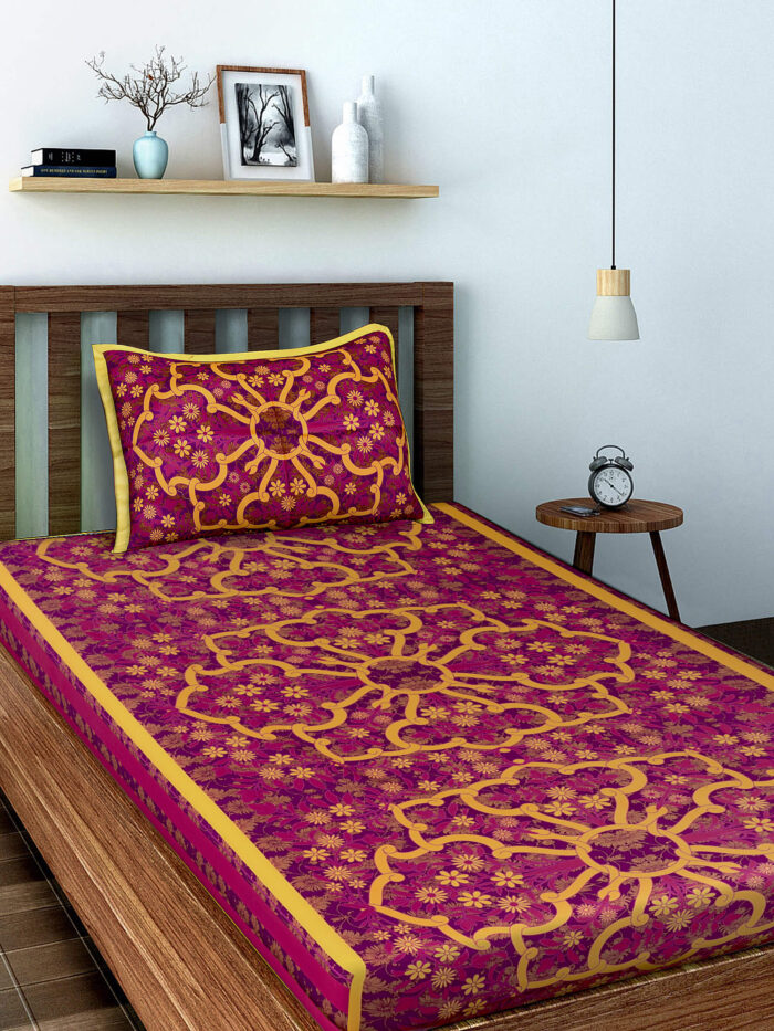 Buy Single Bedsheets Online at Best Rates