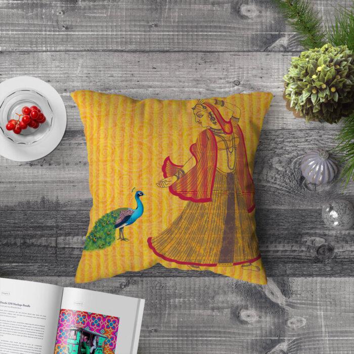 Nritya Ustaad Cushion Cover